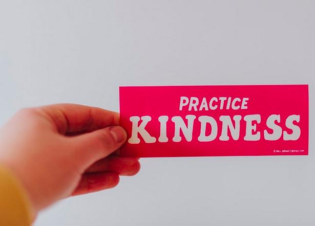 Practice Kindness sticker