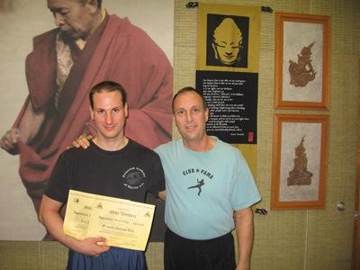 Full Instructor Jeet kune Do/ Jun Fan Gung fu under Sifu Rick Tucci   Full Instructor Filipino martial arts under Guro    Rick Tucci