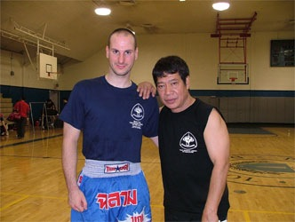 Full Instructor in Muay Thai/ Thai Boxing under Grandmaster    Chai Sirisute    founder of the WTBA