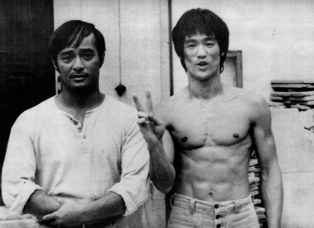Sigung Dan Inosanto, Bruce Lee'straining partner, student and friend. Sigung Inosanto is the only person ever given 3rd rank (instructor level) in Jeet Kune Do personally by Bruce Lee.