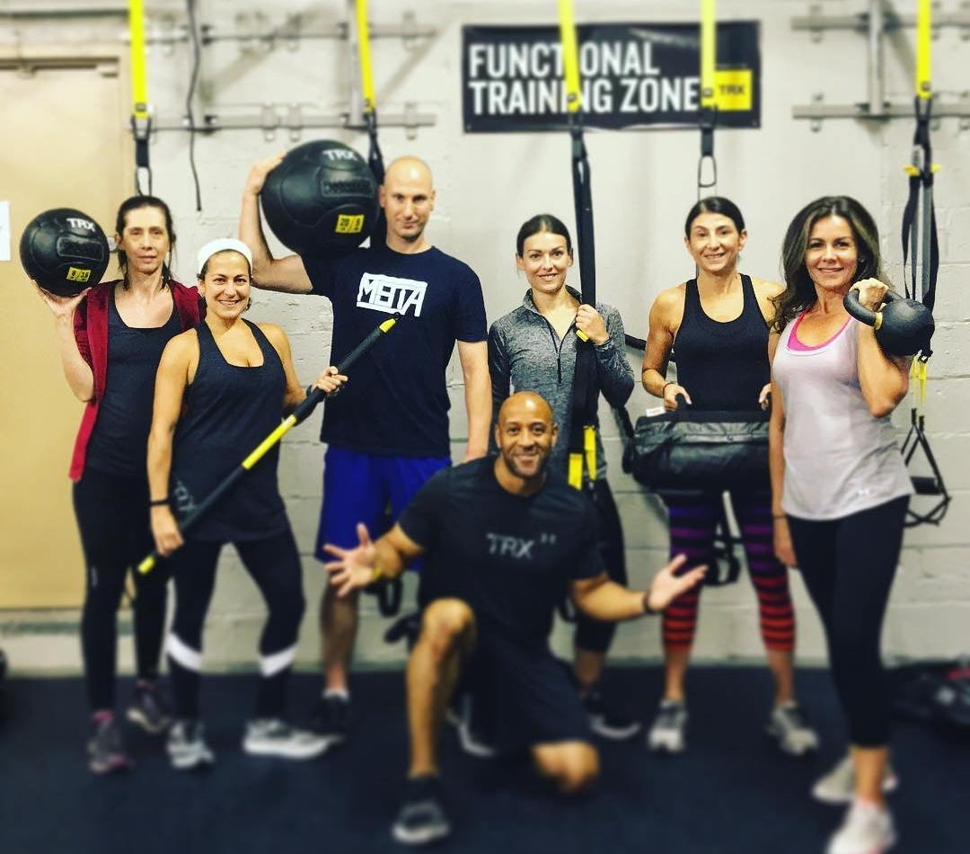 TRX Suspension and Functional Training Qualified