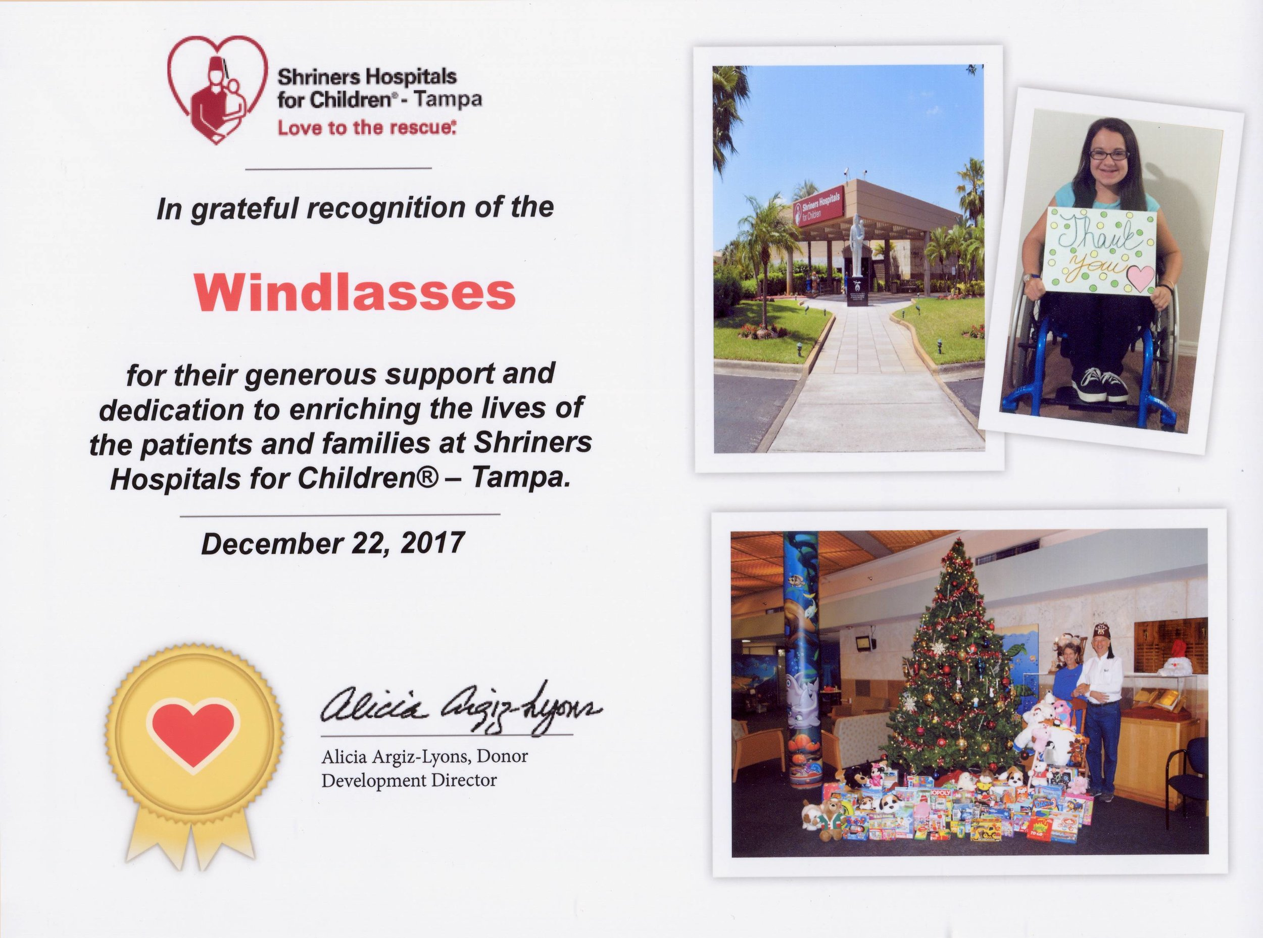 Shriners Christmas 2017 Gifts - Recognition Certificate-A-a.jpg