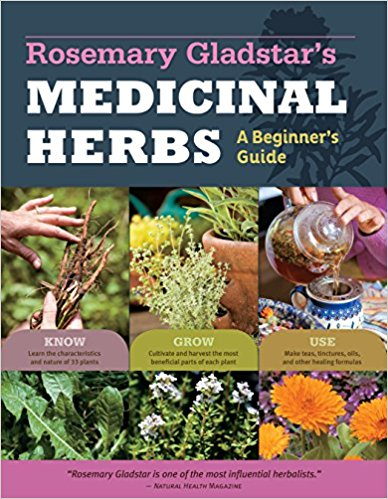Medicinal Herbs, A Beginner's Guide by Rosemary Gladstar - I love this short and snappy book for any beginner looking to dip their toe into using herbs for natural healing. This book is super reader friendly and uses many plants you're probably familiar with in new and interesting ways. Plus, Rosemary is the godmother of herbalism and her knowledge runs incredibly deep. One of my absolute faves!