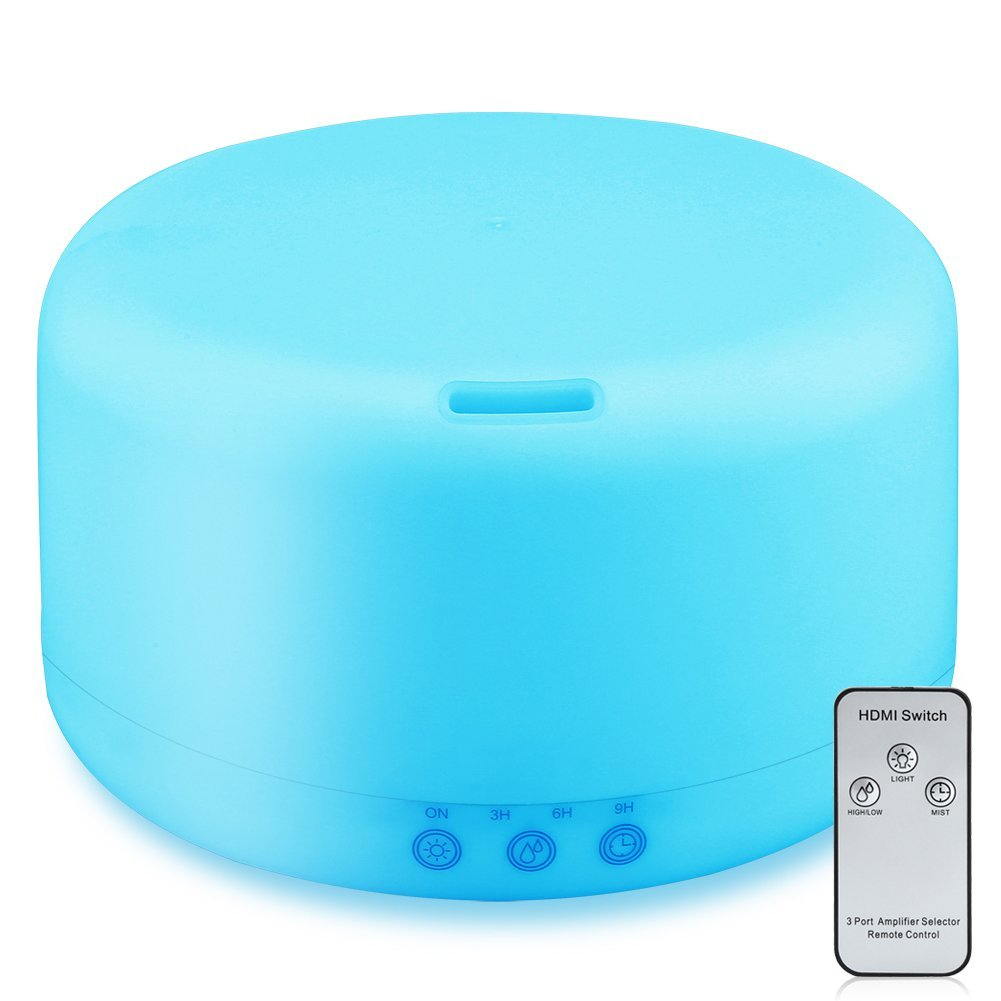 Essential Oil Diffuser - This diffuser runs every night in our bedroom come wintertime. It brings just enough moisture into the air (our bedroom is tiny so a traditional humidifier is actually too humid for us!) and circulates my favorite essential oils blends through the air. (I usually stick with a rosemary + thyme mix during cold season and lavender at night to help sleep.)