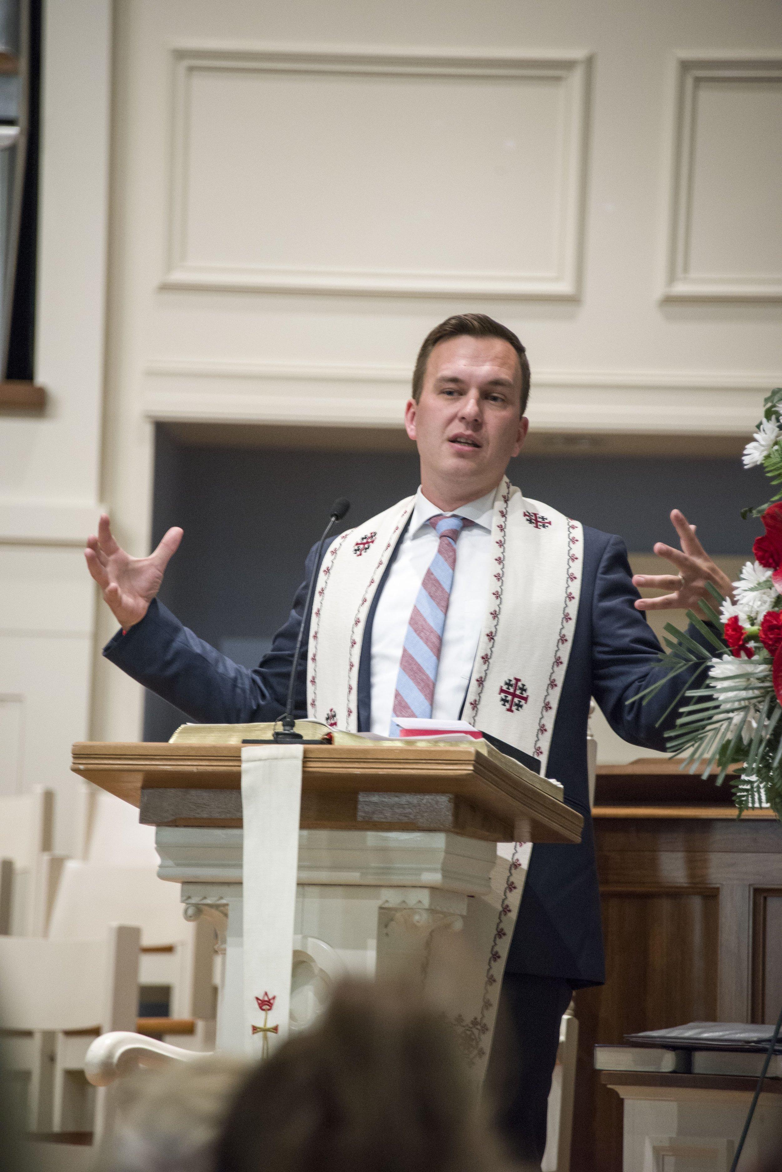 Eric C Fistler, Senior Pastor    eric@fcc-cl.org , ext. 11