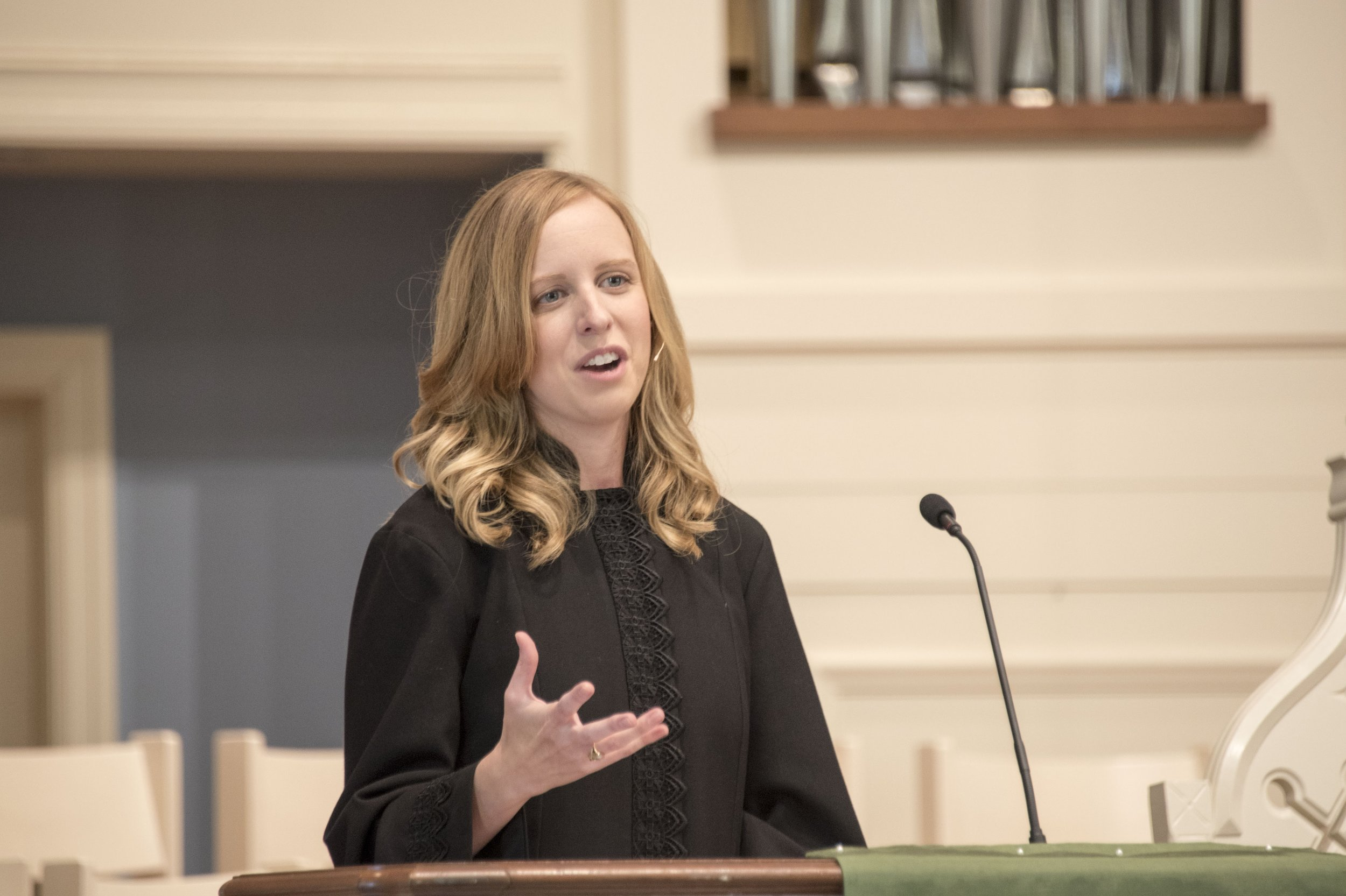 Emily Davis, Pastor of Faith Formation    emily@fcc-cl.org , ext. 13