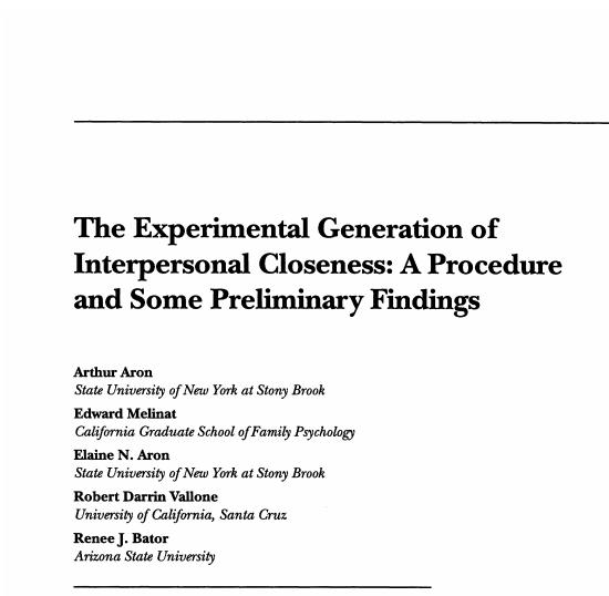 Dr. Aron's Study (PDF)
