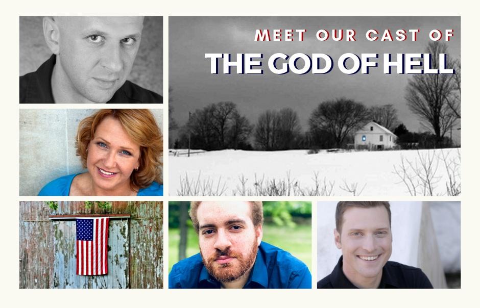 Counter clockwise from top left: Robert W. C. Kennedy, Cheryl Roloff, Matthew Scales, Matthew Huebsch