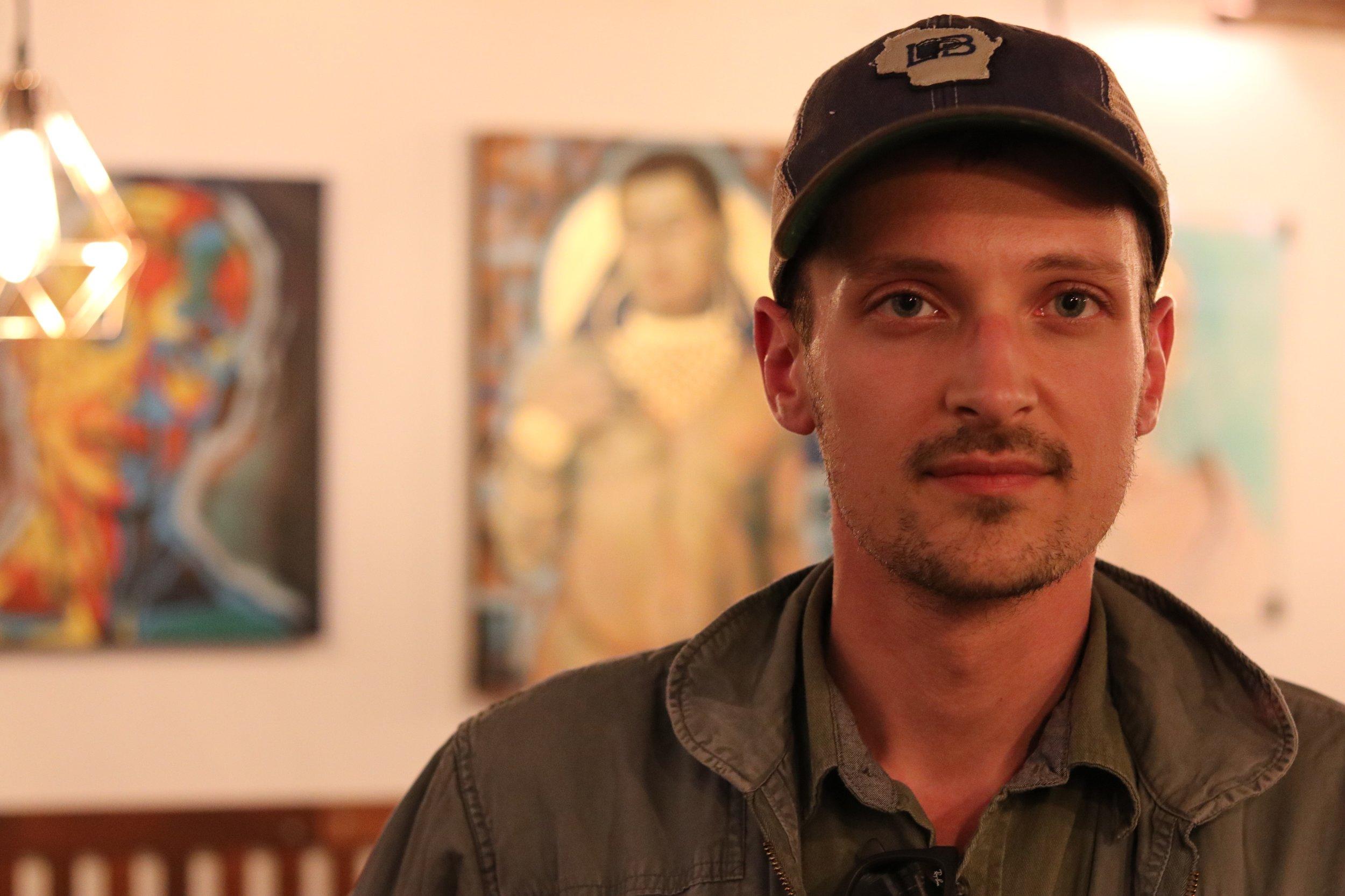 David K. Hohenstein   God of Hell Artwork