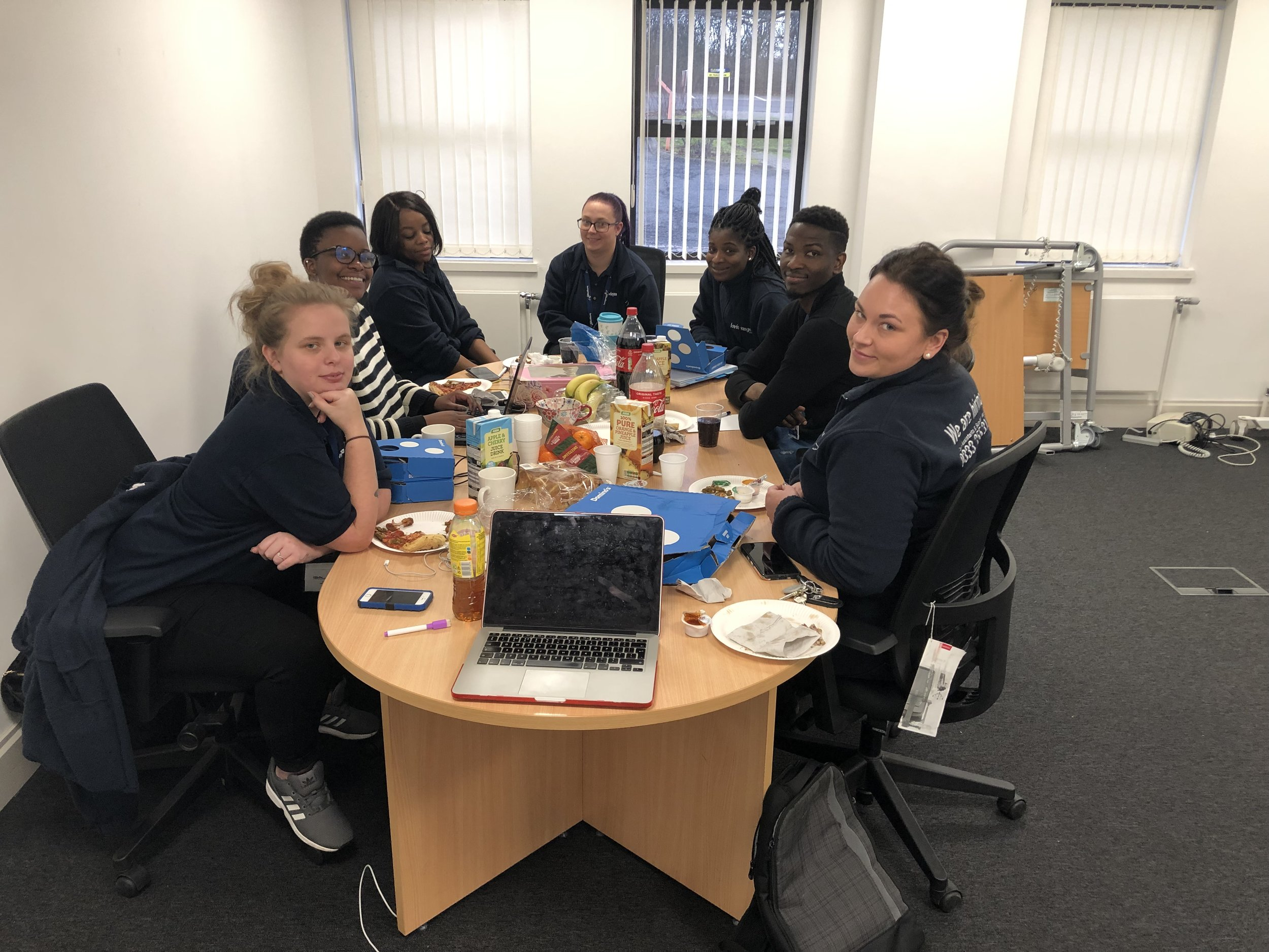 2019 planning meeting with our care management team.
