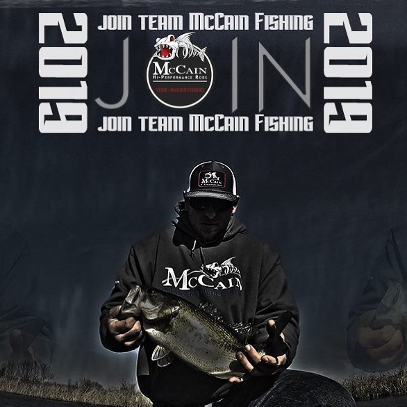 Join Team McCain in 2019 - We are looking for active, enthusiastic team members - McCain Fishing manufactures freshwater and coastal fishing rods for all anglers - If you'd like to join our growing team, please send us a private message!  #mccainmovement #mccainfishing #mccainrods #fishing #fish #fishingrod #fishingrods #bassin #mccain2019