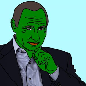 TrumpPepe's blood brother PutinPepe