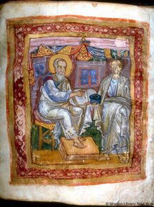 Apostle_John_and_Marcion_of_Sinope_from_JPM_LIbrary_MS_748_11th_c-224x300.jpg