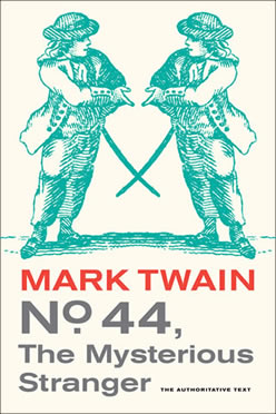 "Alternatively entitled ""The Mysterious Stranger,"" this book is the fruit of various versions of manuscripts that Mark Twain was working on at the time of his death in 1910. (Image:  TwainQuotes.com )"