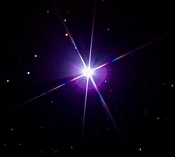 The star Sirius was identified with the goddess Isis. When the Egyptians saw this star begin to rise ahead of the summer sun, they knew that the benevolent flooding of the Nile was near. (Photo:  EarthSky.org )