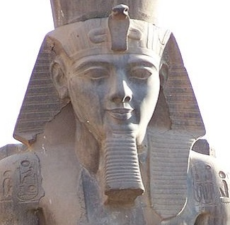The colossal statue of Ramesses II still sits at Luxor, Egypt. (Photo:  Wikipedia )