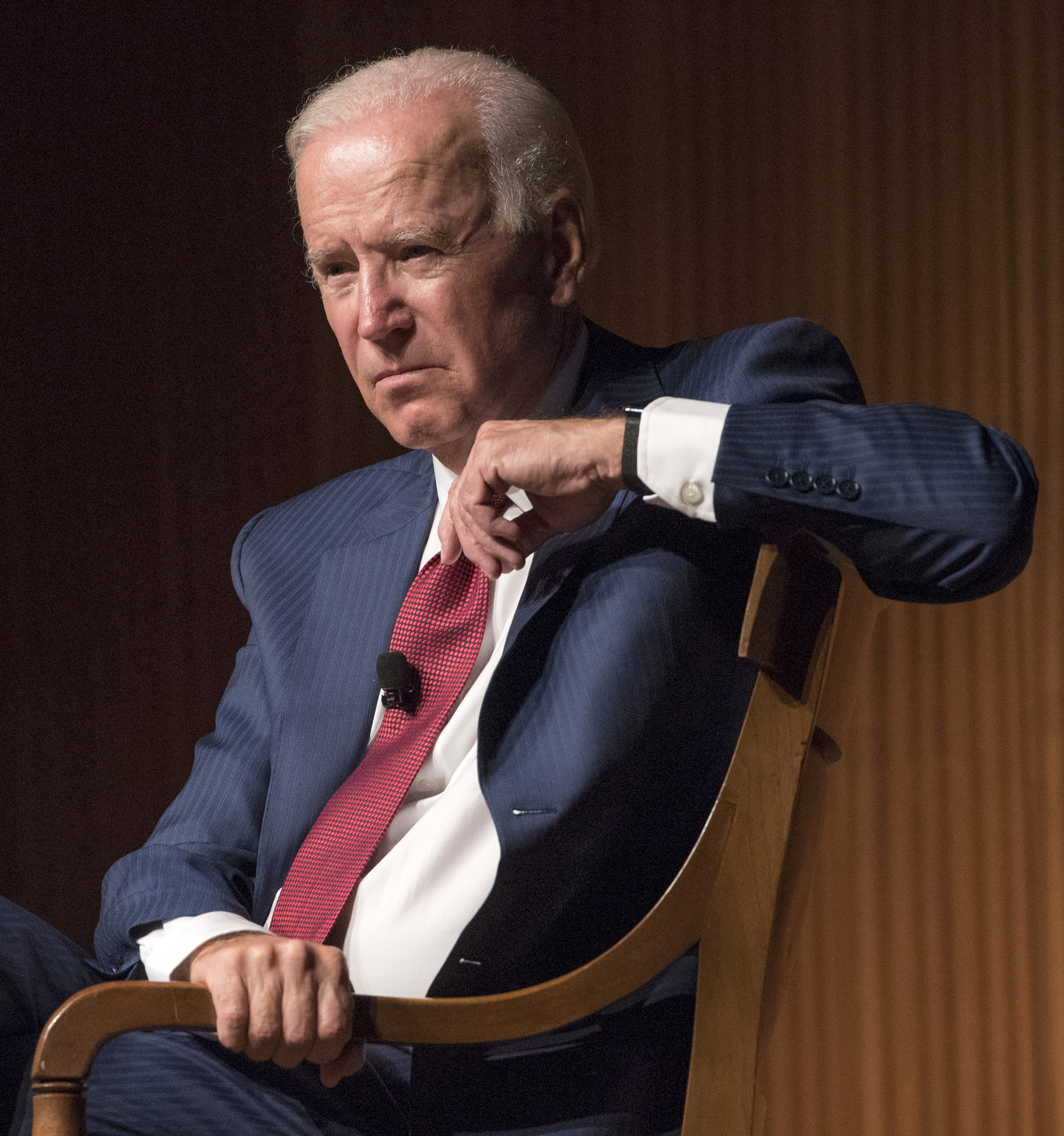 Joe Biden, the 47th vice president of the United States, was the featured guest for the Tom Johnson Lectureship at the LBJ Presidential Library on Tuesday, Oct. 3, 2017. The conversation was moderated by Mark Updegrove, former director of the LBJ Library. 