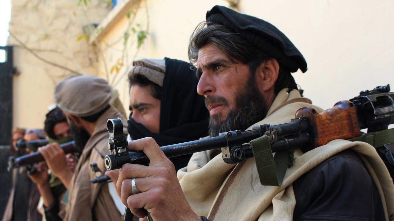 Taliban fighters © Global Look Press / imago stock & people