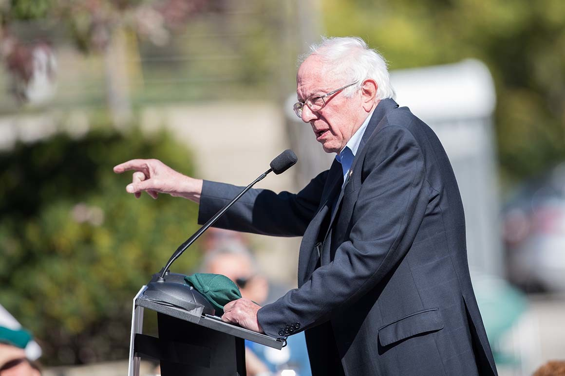 Sen. Bernie Sanders. | Scott Eisen/Getty Images