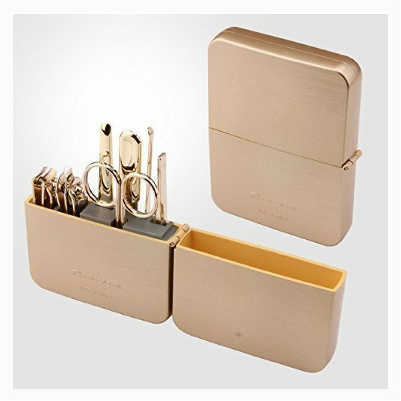 World No. 1. Three Seven (777) Travel Manicure Grooming Kit Nail Clipper Set