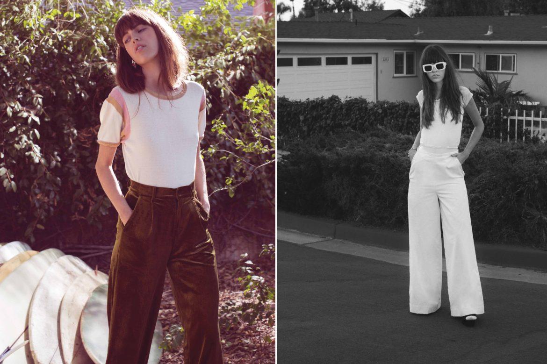 Tee :  Billy Los Angeles Chain :  Vanessa Arizaga Pants : Vintage Top : Brashy Studios Pants : Toit Volant Shoes :  Jeffrey Campbell