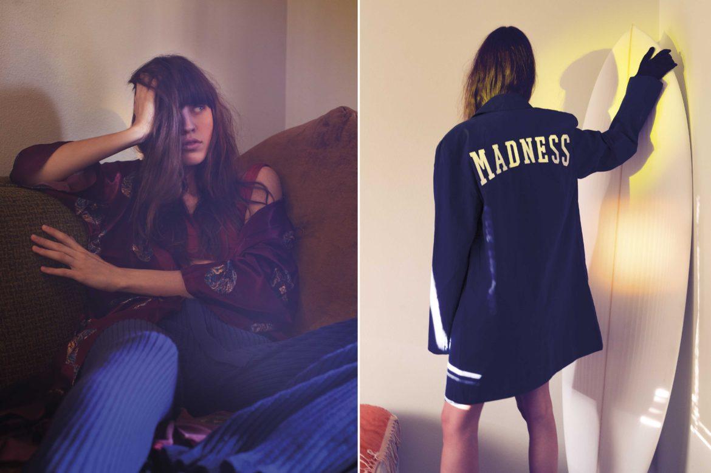 Bikini Top :  Slate Swim Pants :  Maria Dora Jacket :  Modern Day Madness