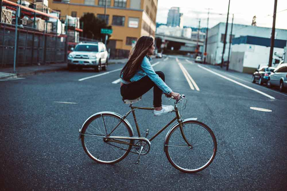 Riding the streets in Portland