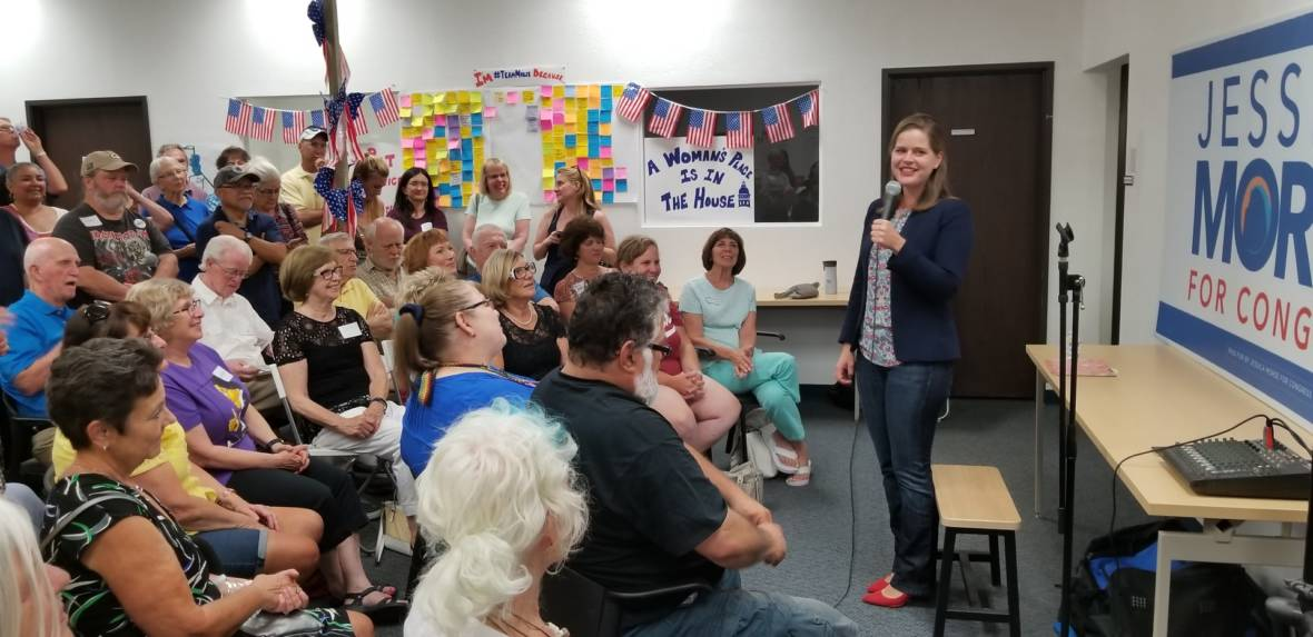Jessica Morse at Roseville Rally