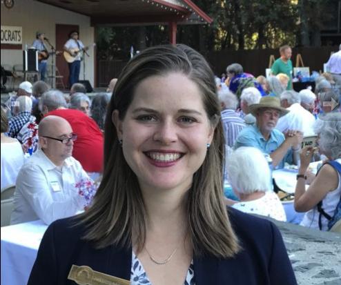 Candidate Jessica Morse