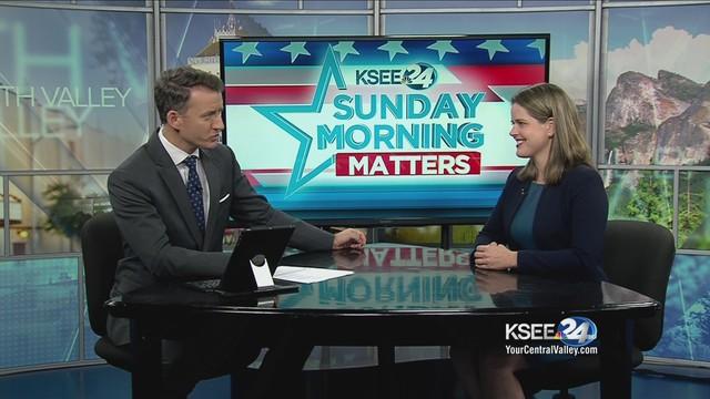 Democrat Jessica Morse sits down with KSEE24's Evan Onstot to discuss her challenge to Congressman Tom McClintock