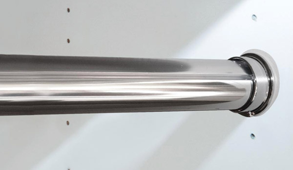 rod polished chrome round