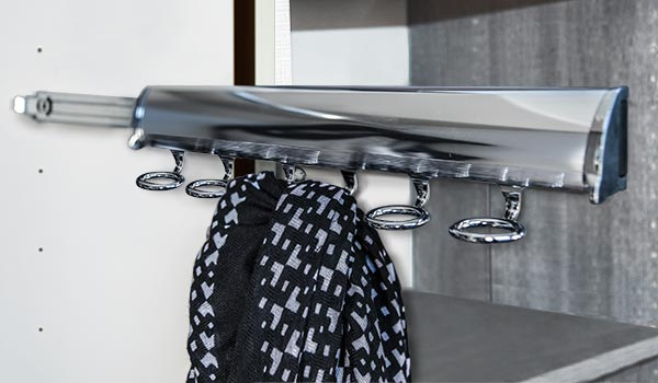 elite scarf rack
