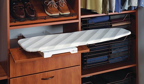 drawer ironing board