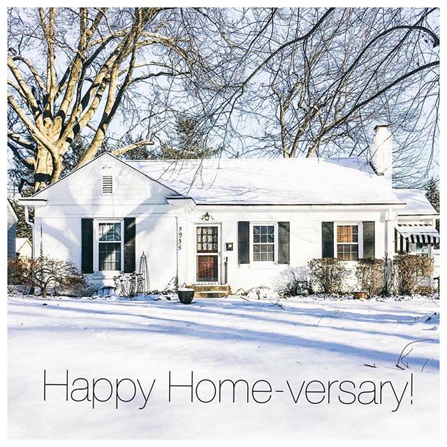 One year ago, some of our favorite clients and great friends put down roots in Indy and turned this adorable white brick house into a home. So many memories already made in this home, and we can't wait to see what's in store next for this awesome couple! Happy 1-Year Home-versary! 🤗❤️🏡