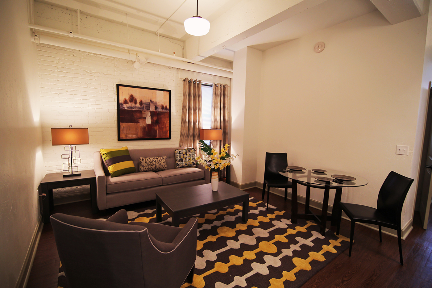 Douglass One Bedroom Model Living Room.jpg