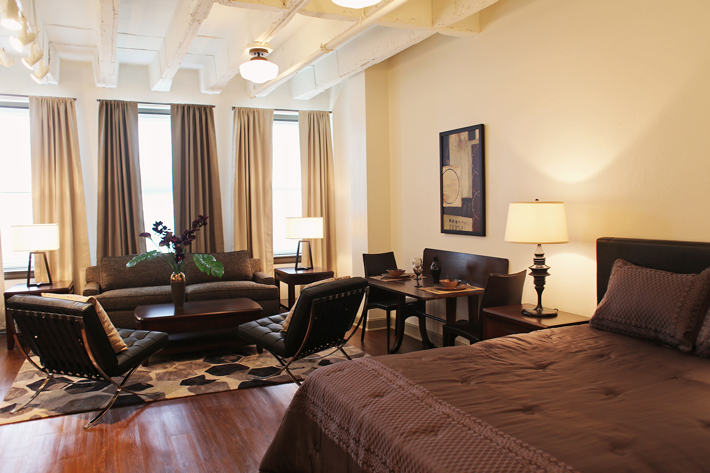 Douglass Studio Bedroom and Living Room.jpg