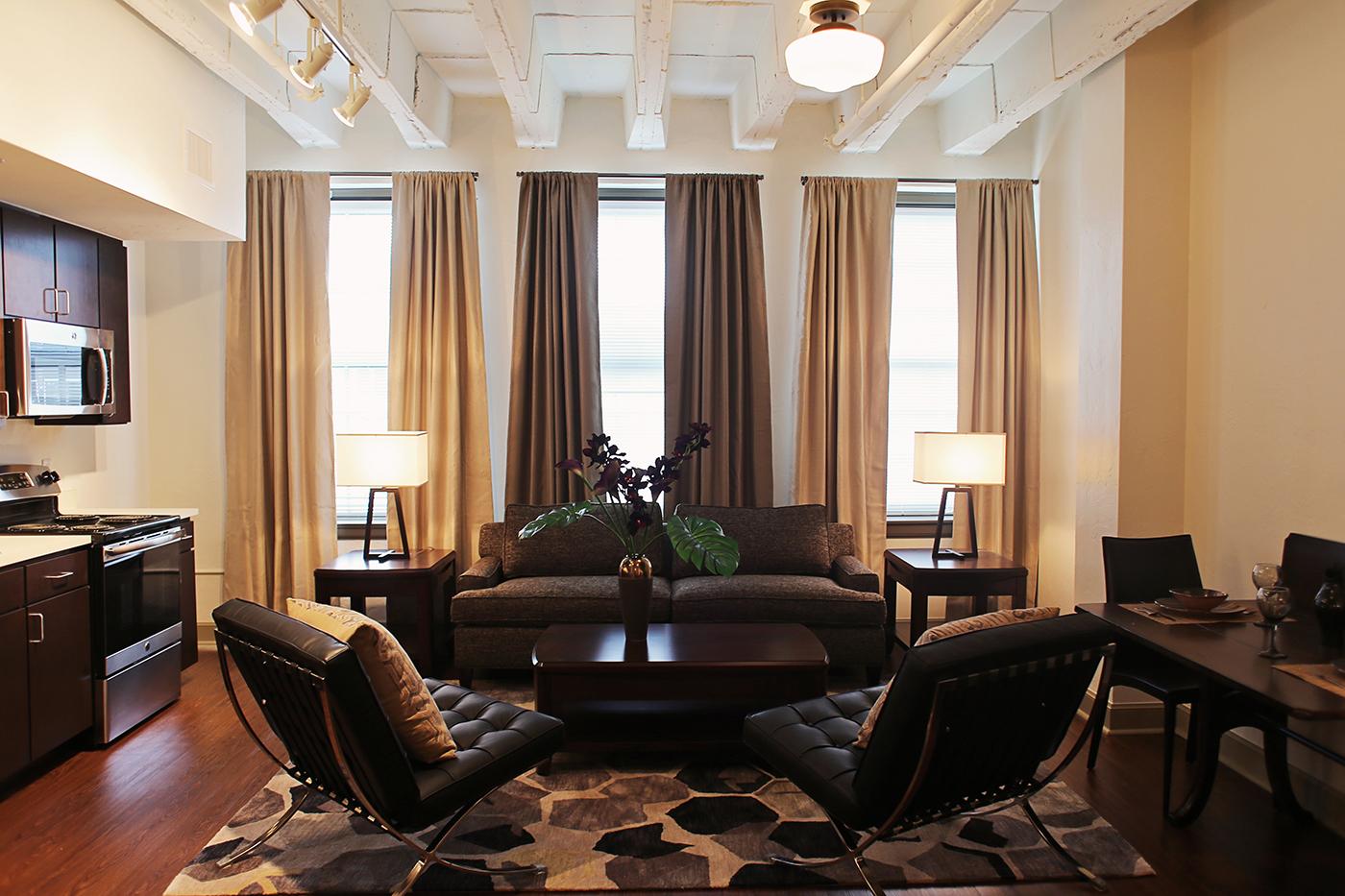 The Douglass Studio Apartment Living Room.jpg