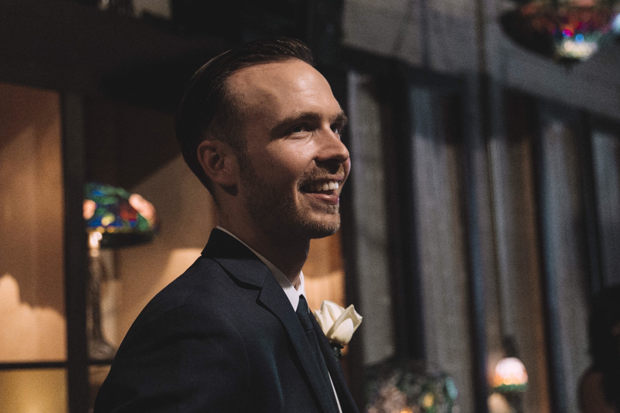Just cheezin' seeing Devs coming down the aisle!