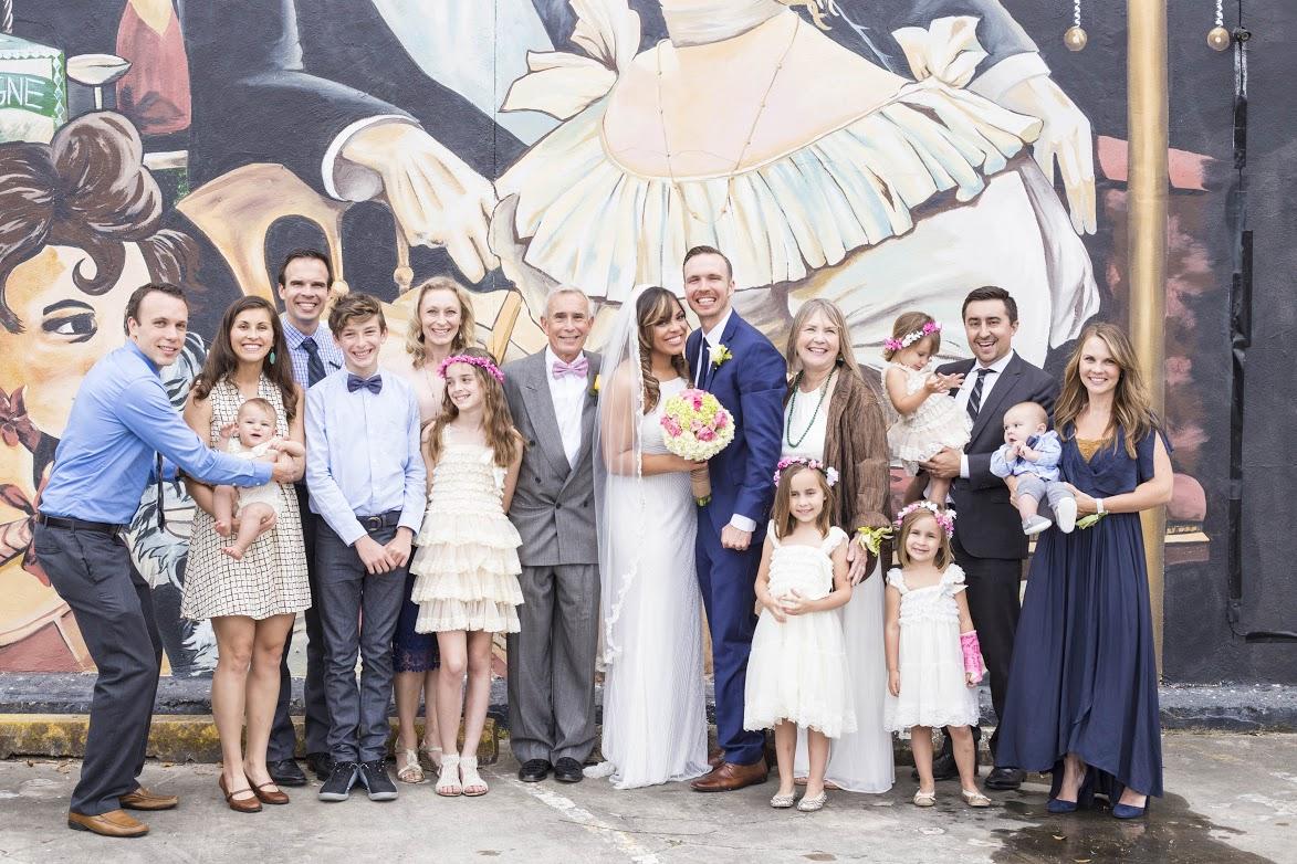 Julian's Family. The Swanson Crew!