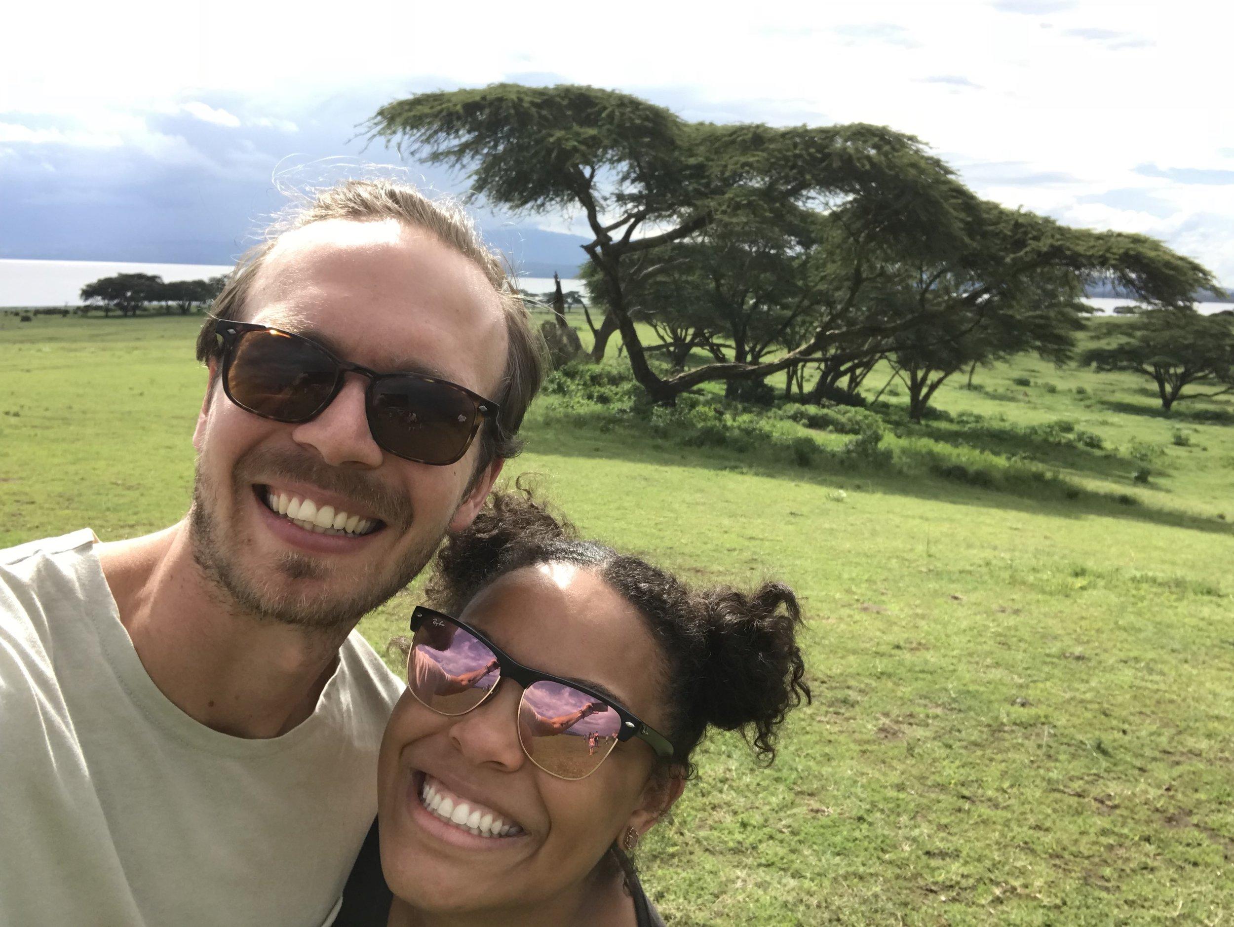 My fav girl and I on a walking safari in Kenya!