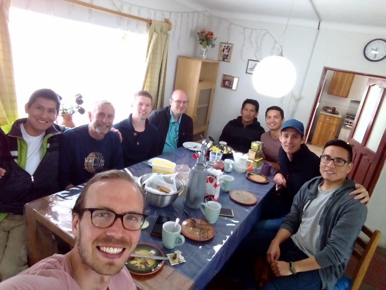 Men's Breakfast Bible Study!!
