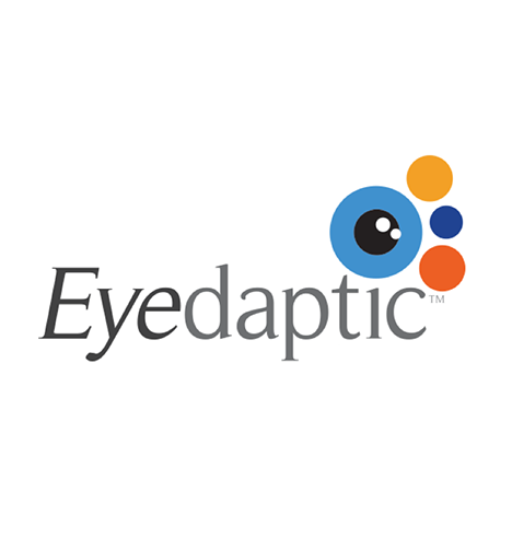 Eyedaptic, Inc.   Eyedaptic, is addressing the leading cause of blindness (AMD - Age Related Macular Degeneration), by developing unique software, embedded in AR (Augmented Reality) glasses, which help those with retina-related vision loss simulate natural vision, and improve their quality of life.