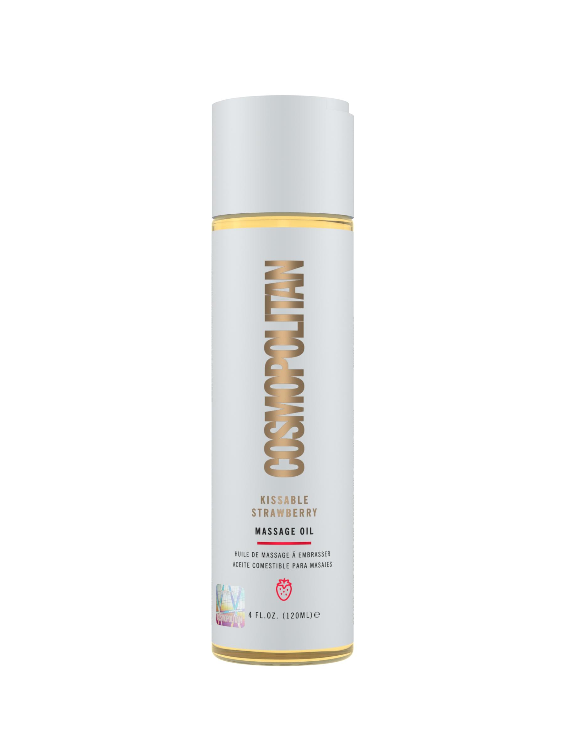 COSMO Kissable Strawberry Massage Oil -