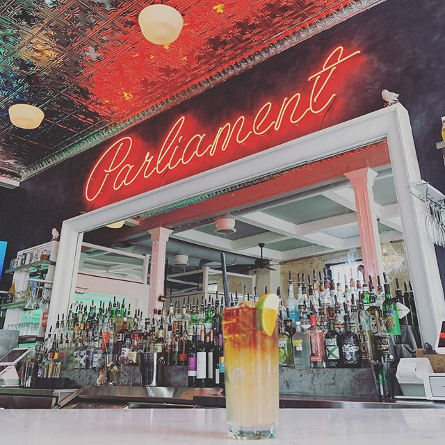 Come on out to @parliamentraleigh and get your dark and stormy on!  @djboogied917 is in charge of the music tonight with @richmacsherry92 behind the bar!
