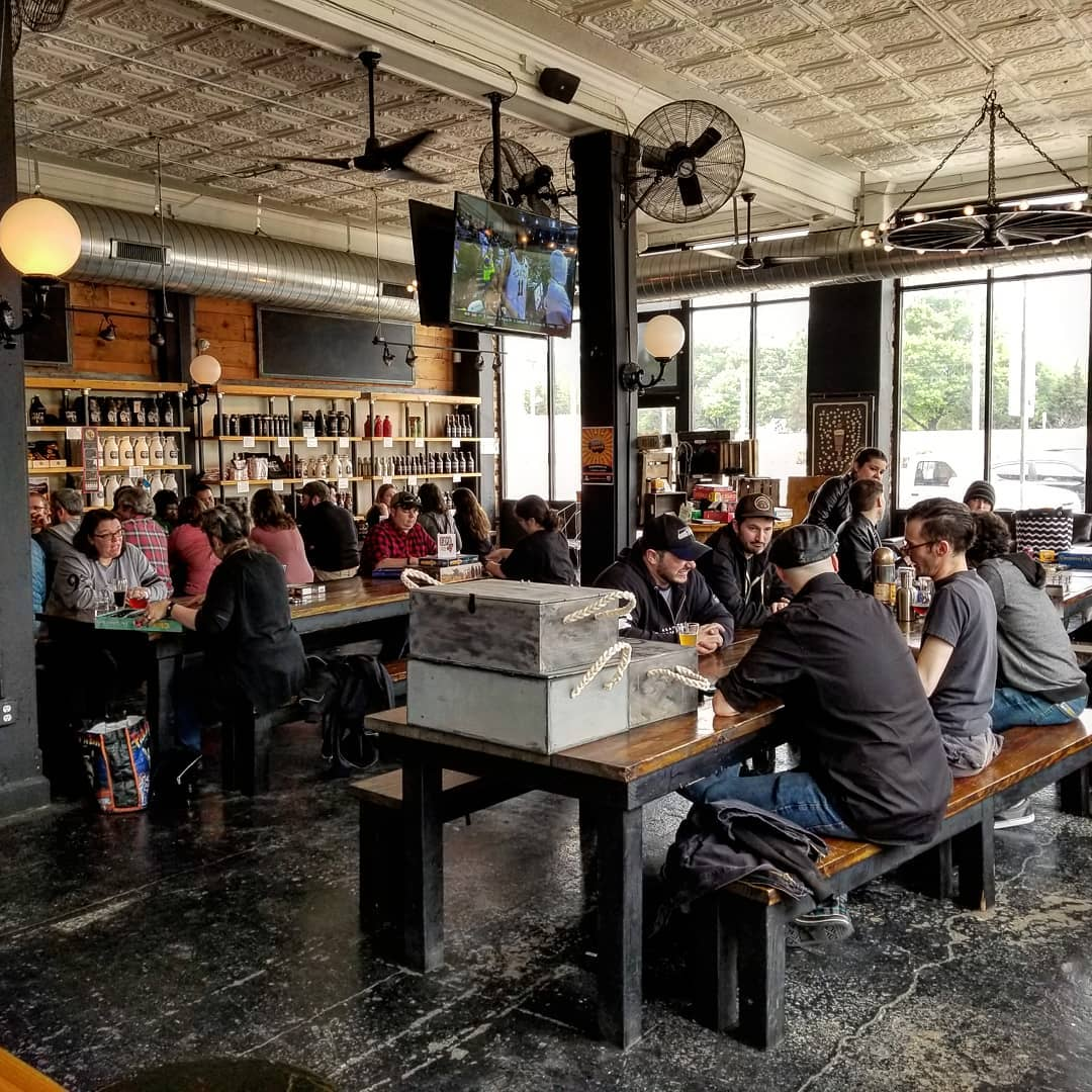 Book your own event at Craft and Growler - Provide us the size of your party and time and we will reserve tables for you and your guests at no cost. Feel free to bring your own food or cater the event. Great open space that can handle  50 to 100+ sized groups.