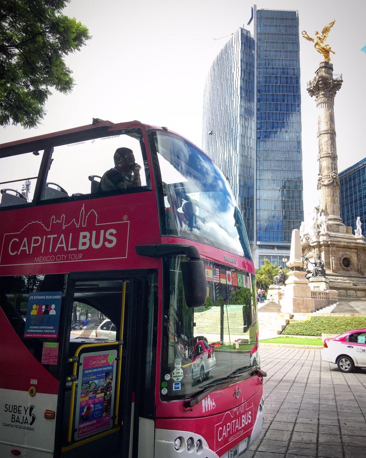 Mexico City Tour Hop-on Hop-Off