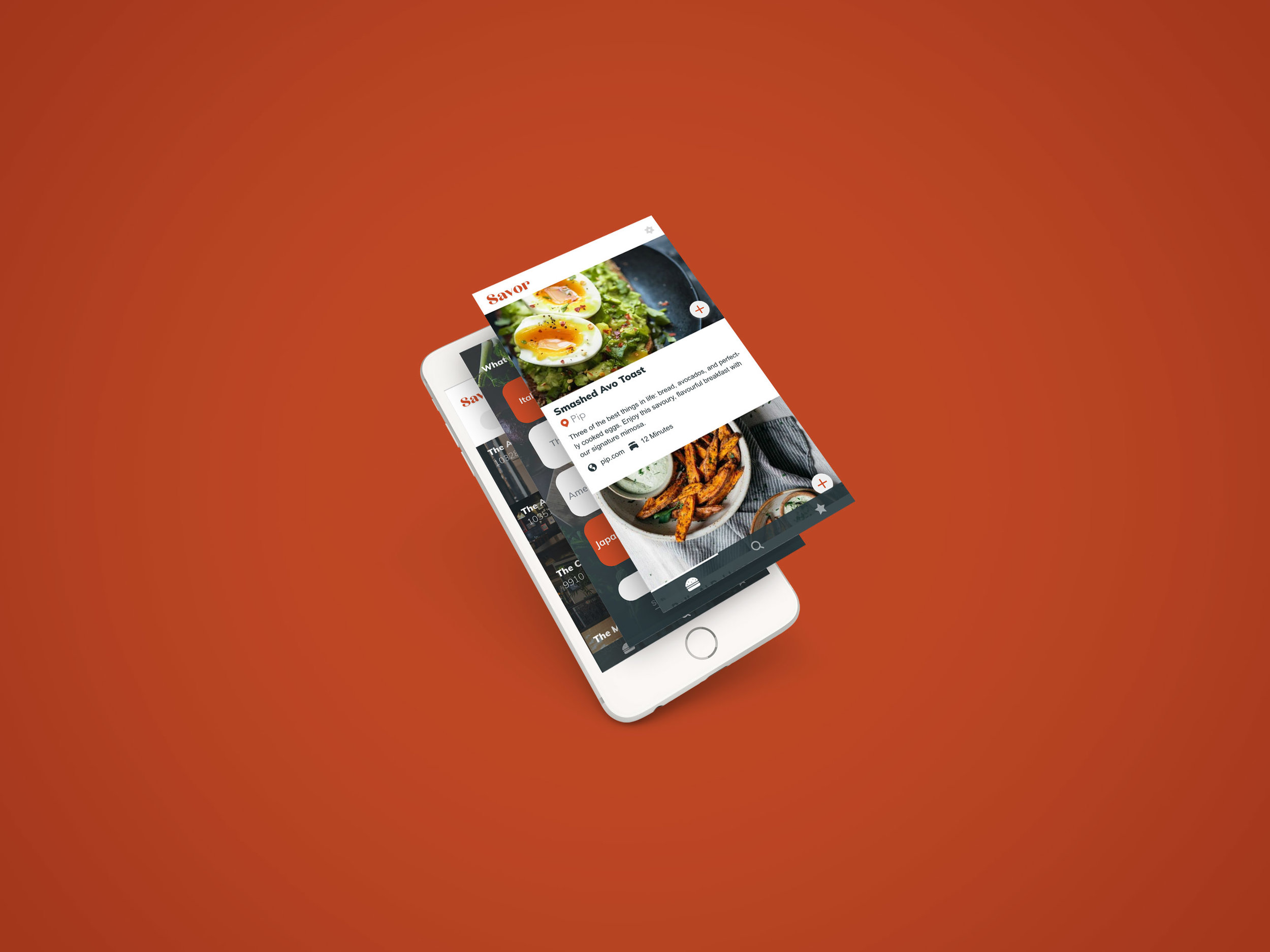 Savor - The App For Foodies