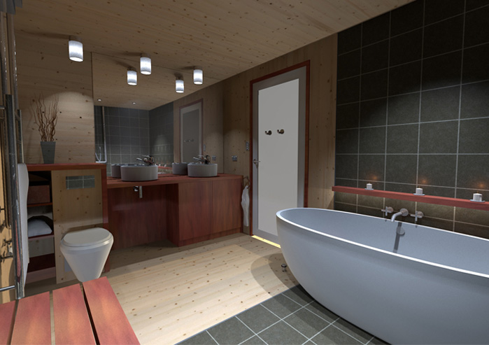 Unipod Bathroom Design