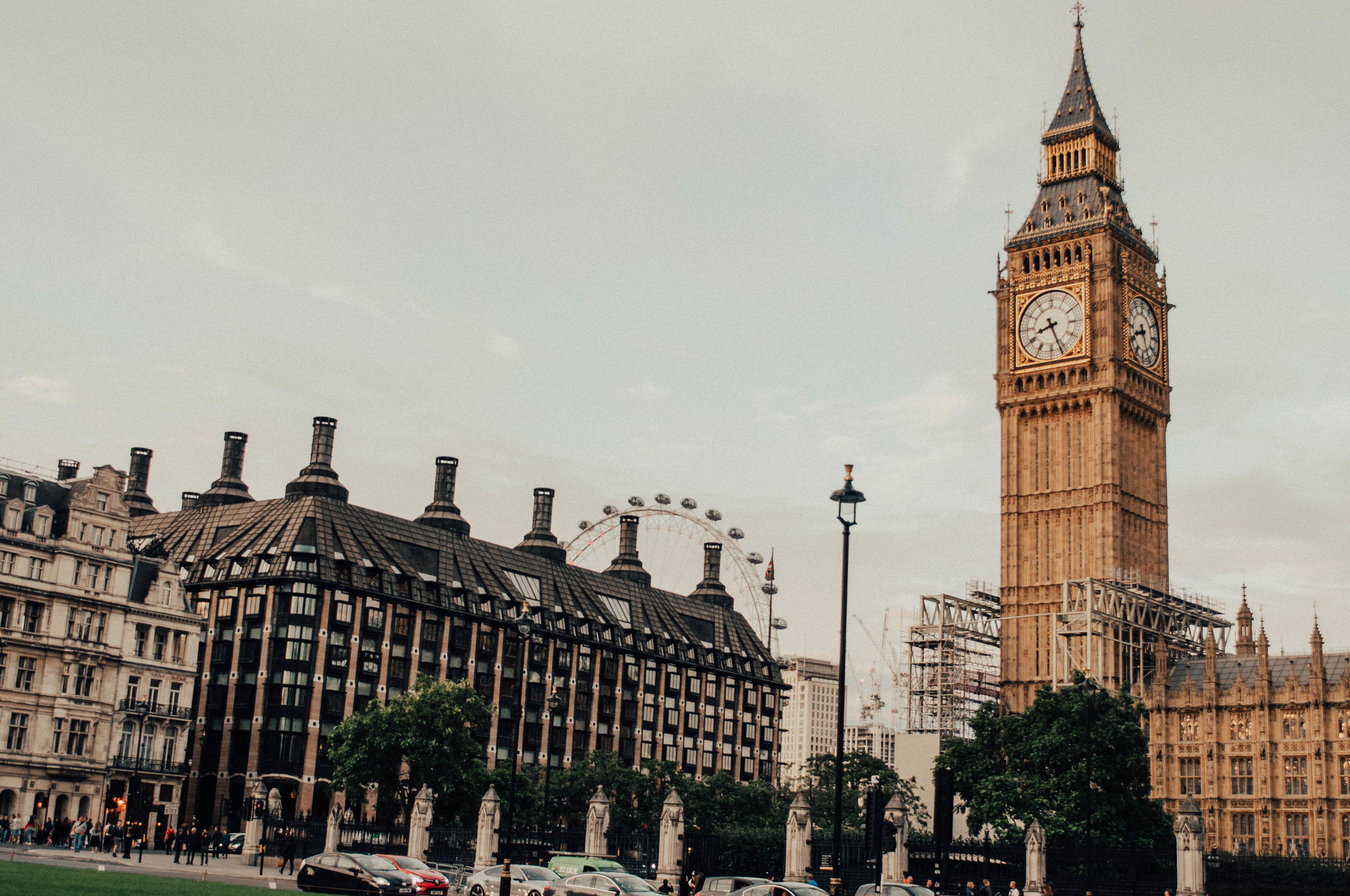 Big Ben & the London Eye