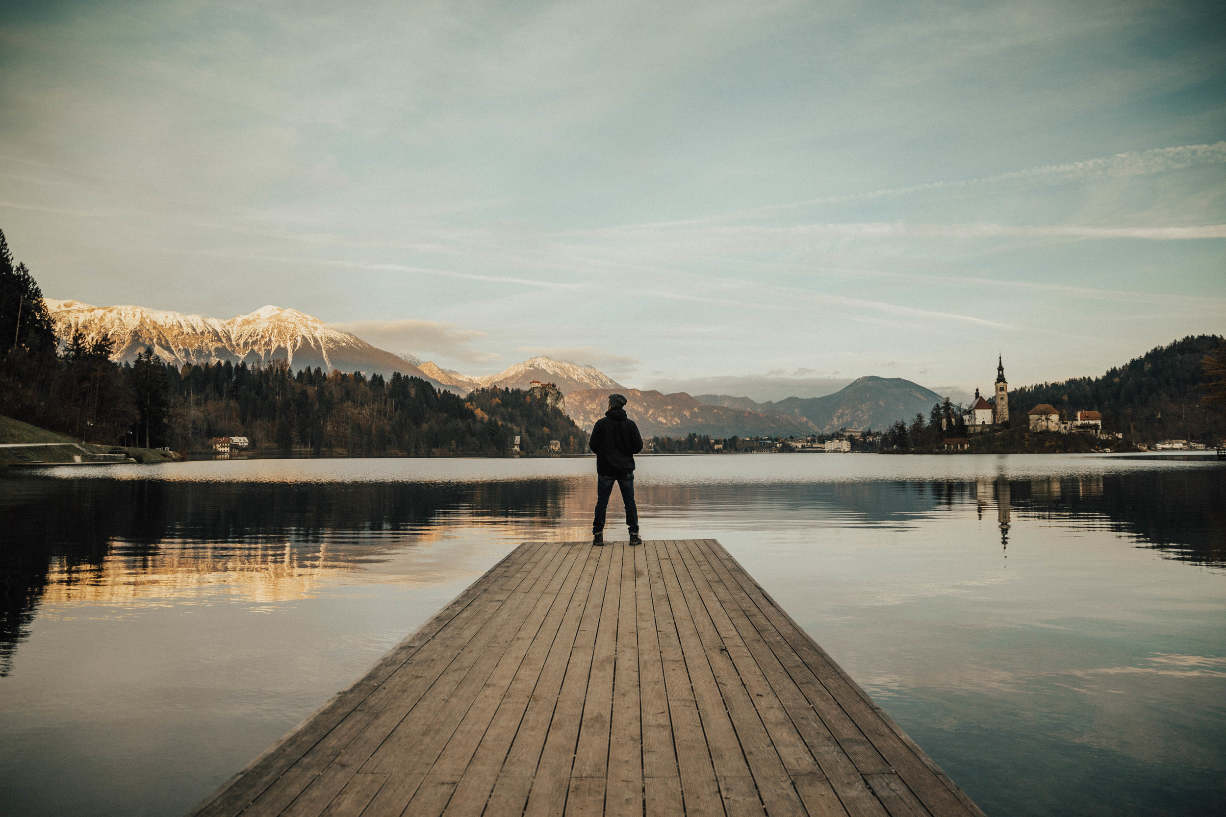 Ended back at Lake Bled for sunset